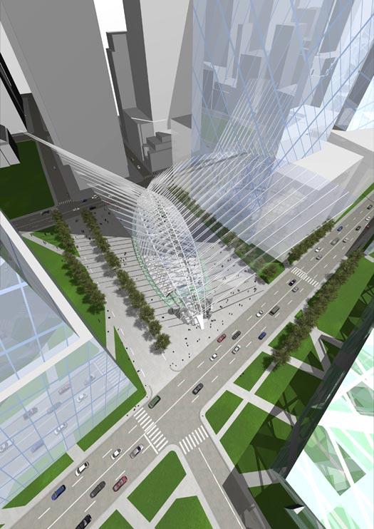 New york transportation hub progress